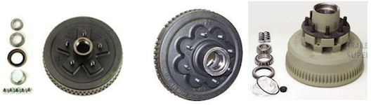 Electric Trailer Brake Drums